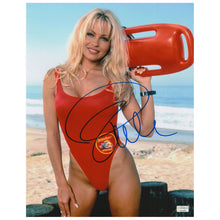 Load image into Gallery viewer, Pamela Anderson Autographed Baywatch C.J. Parker 11x14 Photo