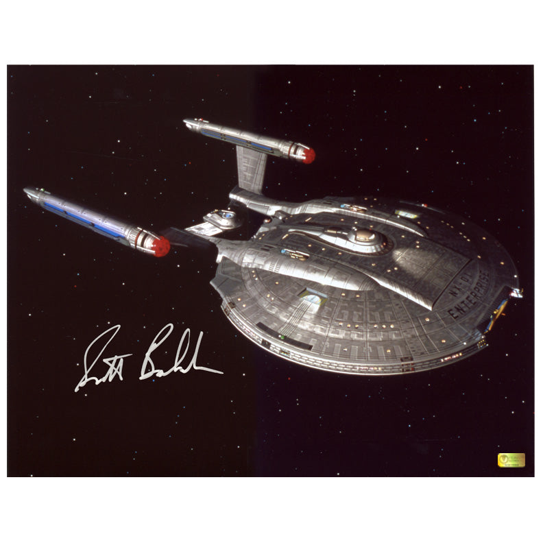 Scott Bakula Autographed Star Trek Enterprise NX-01 11x14 Photo