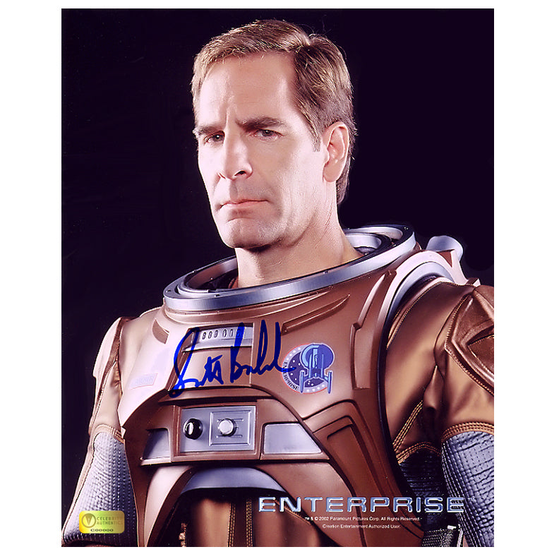 Scott Bakula Autographed Star Trek Enterprise Captain Archer 8x10 Portrait Photo