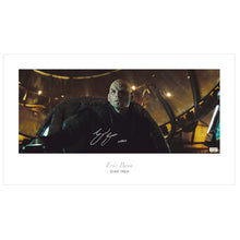Load image into Gallery viewer, Eric Bana Autographed Star Trek Narada Bridge 23x13 Art Photo
