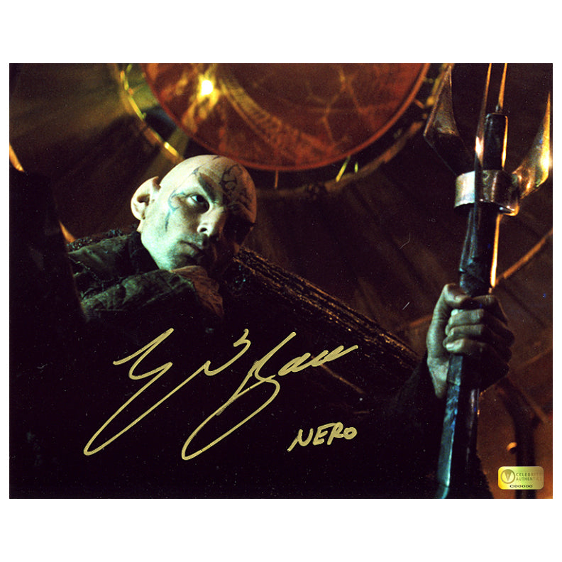 Eric Bana Autographed Star Trek Nero 8×10 Photo