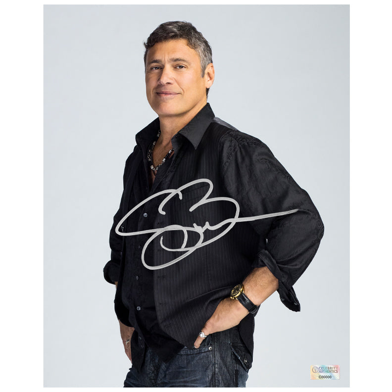 Steven Bauer Autographed Ray Donovan Avi 8×10 Studio Photo