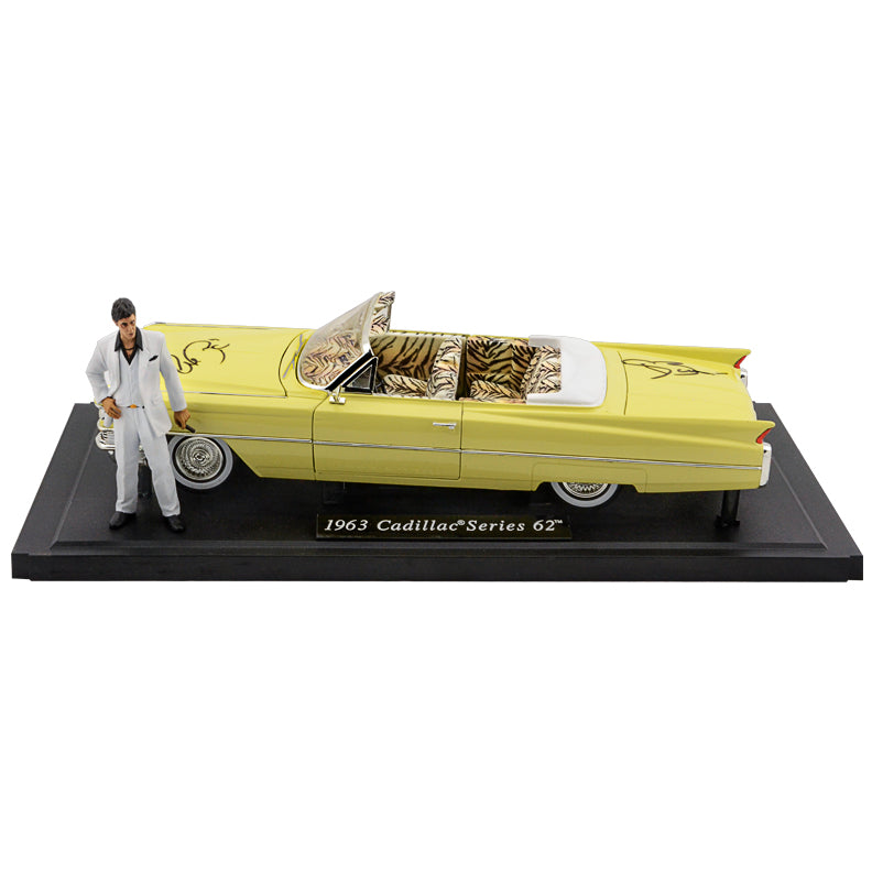 Al Pacino, Steven Bauer Autographed Scarface 1:18 Scale Die-Cast 1963 Cadillac Series 62