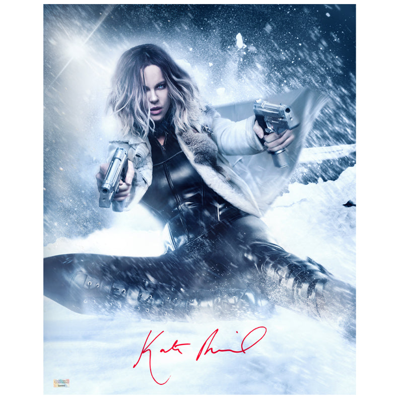 Kate Beckinsale Autographed Underworld Blood Wars 16×20 Metallic Photo