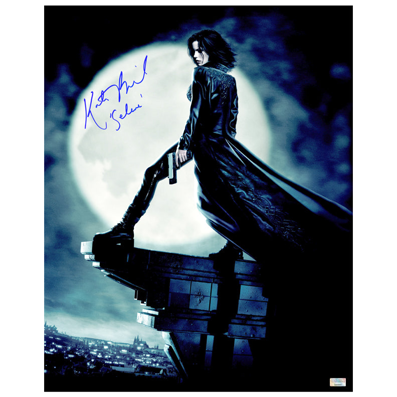 Kate Beckinsale Autographed Underworld Death Dealer 16x20 Photo