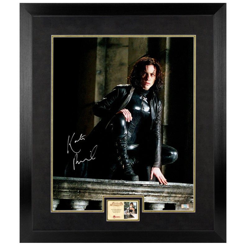 Kate Beckinsale Autographed Underworld Selene in the Shadows 16×20 Photo