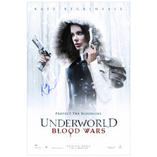 Load image into Gallery viewer, Kate Beckinsale Autographed Underworld Blood Wars Original 27x40 Single Sided Movie Poster