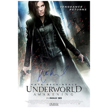 Load image into Gallery viewer, Kate Beckinsale Autographed Underworld Awakening Promo 27×40 Original  Poster