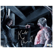 Load image into Gallery viewer, Kate Beckinsale Autographed Underworld Evolution Selene and Marcus 8×10 Photo