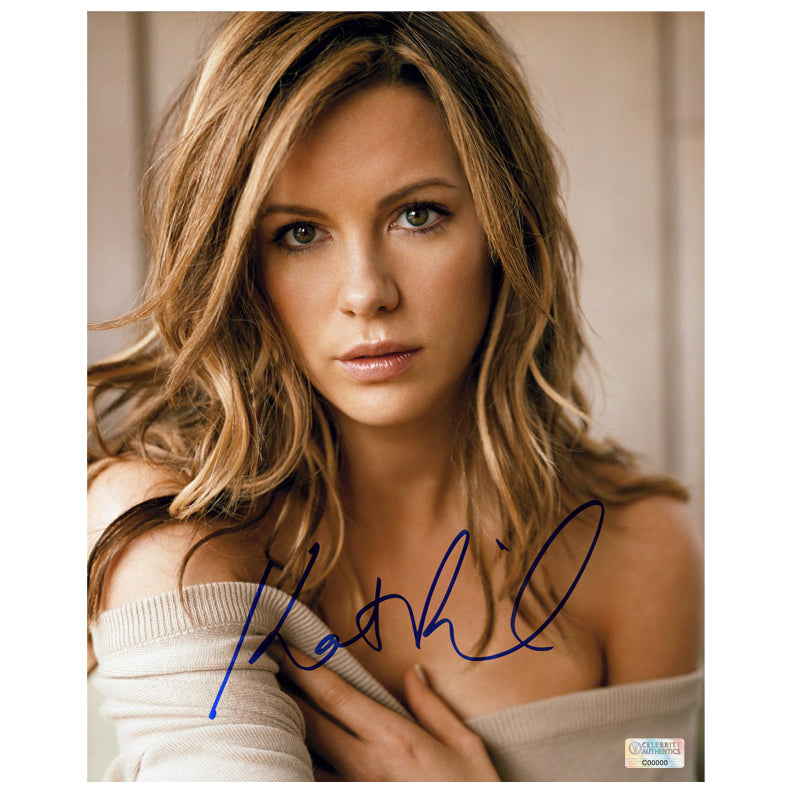 Kate Beckinsale Autographed 8×10 Portrait Photo
