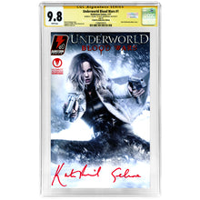 Load image into Gallery viewer, Kate Beckinsale Autographed 2017 Underworld Blood Wars #1 CGC SS 9.8 Celebrity Authentics Exclusive Variant Cover