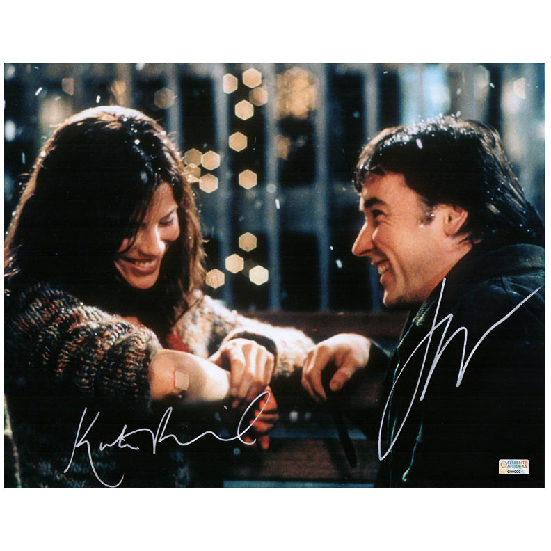Kate Beckinsale and John Cusack Autographed Serendipity 11×14 Photo