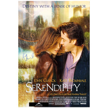 Load image into Gallery viewer, Kate Beckinsale and John Cusack Autographed Serendipity 27x40 Poster