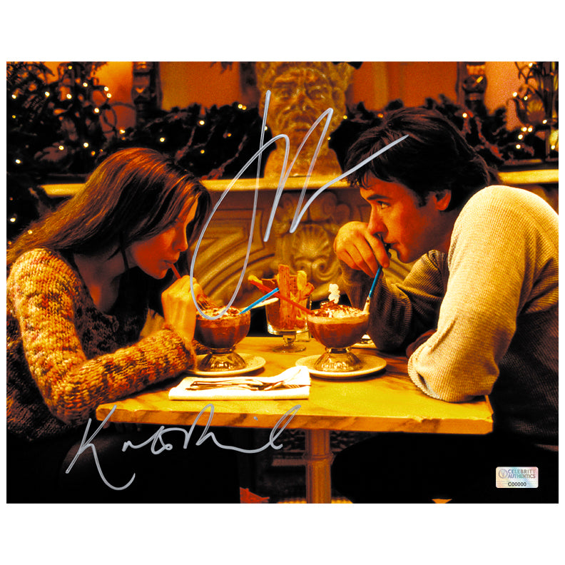 Kate Beckinsale and John Cusack Autographed Serendipity 8×10 Scene Photo
