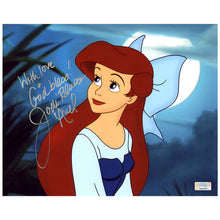 Load image into Gallery viewer, Jodi Benson Autographed The Little Mermaid 8×10 Close Up Photo