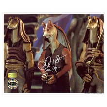 Load image into Gallery viewer, Ahmed Best Autographed Star Wars Jar Jar Binks Prisoner 8x10 Photo