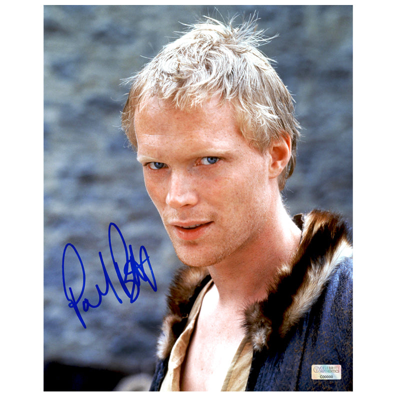 Paul Bettany Autographed A Knight's Tale 8×10 Photo