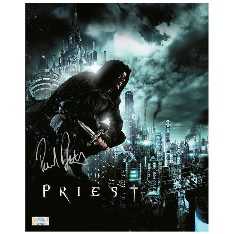 Paul Bettany Autographed Priest 8×10 Photo