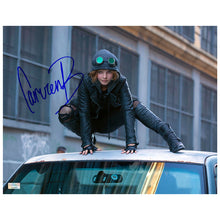 Load image into Gallery viewer, Camren Bicondova Autographed Gotham Selina Kyle 11x14 Scene Photo