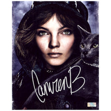 Load image into Gallery viewer, Camren Bicondova Autographed Gotham Selina Kyle Catwoman 8x10 Portrait Photo