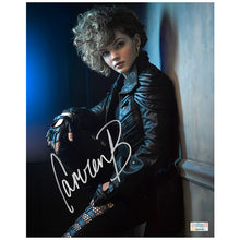Load image into Gallery viewer, Camren Bicondova Autographed Gotham Selina Kyle 8x10 Studio Photo