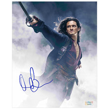 Load image into Gallery viewer, Orlando Bloom Autographed Pirates of the Caribbean Will Turner 8×10 Photo