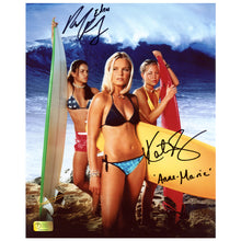 Load image into Gallery viewer, Kate Bosworth, Michelle Rodriguez Autographed Blue Crush 8x10 Photo