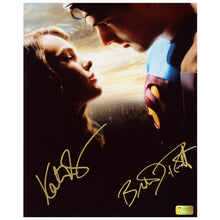 Load image into Gallery viewer, Brandon Routh and Kate Bosworth Autographed Superman Returns Reunited 8x10 Photo