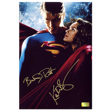 Load image into Gallery viewer, Brandon Routh and Kate Bosworth Autographed Superman Returns 8x12 Photo