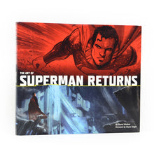 Load image into Gallery viewer, Brandon Routh and Kate Bosworth Autographed The Art of Superman Returns Book