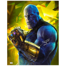Load image into Gallery viewer, Josh Brolin Autographed Avengers Infinity War Thanos Gauntlet 16x20 Photo