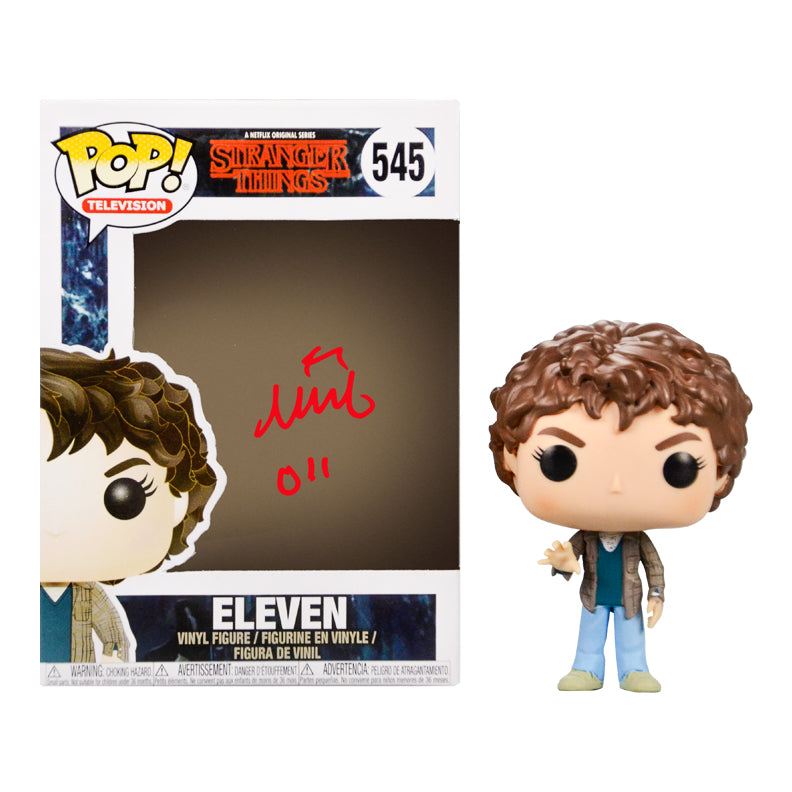Millie Bobby Brown Autographed Stranger Things Eleven POP Vinyl #545