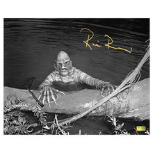 Load image into Gallery viewer, Ricou Browning Autographed Creature from the Black Lagoon Gill Man 8×10 Photo