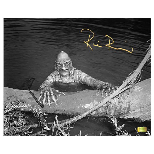 Ricou Browning Autographed Creature from the Black Lagoon Gill Man 8×10 Photo