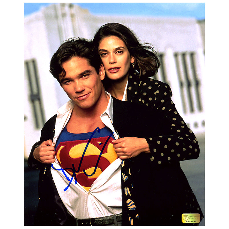 Dean Cain Autographed Lois & Clark: The New Adventures of Superman Reveal 8x10 Photo