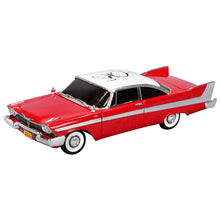 Load image into Gallery viewer, John Carpenter Autographed Christine (1983) 1958 Plymouth Fury 1:18 Diecast Car