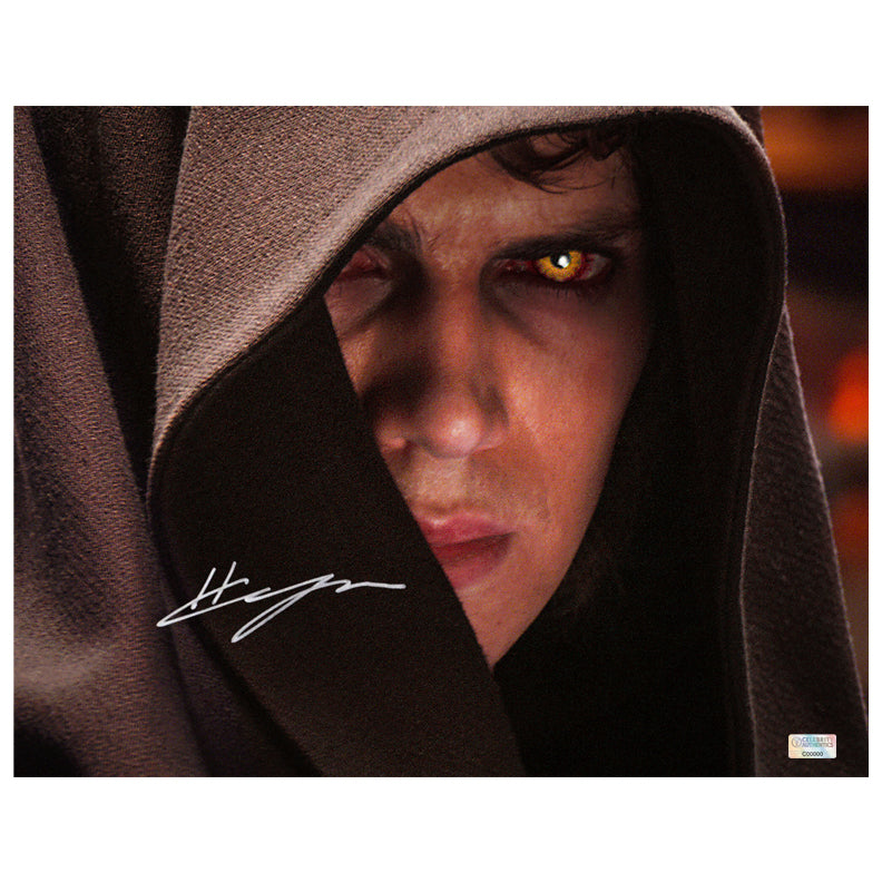 Hayden Christensen Autographed Star Wars Episode III: Revenge of the Sith Anakin Skywalker 11x14 Photo