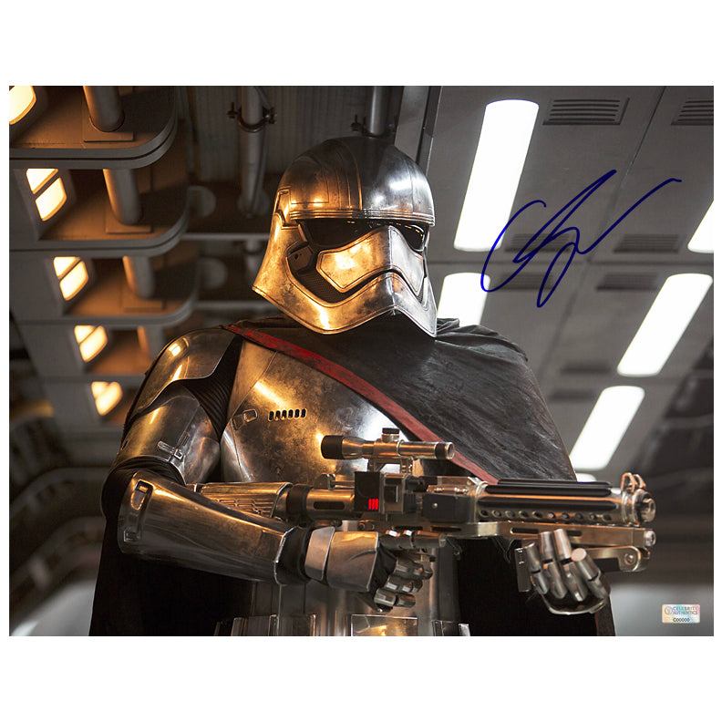 Gwendoline Christie Autographed Star Wars: The Force Awakens Captain Phasma 11×14 Photo