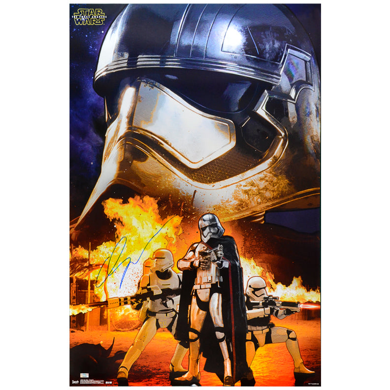 Gwendoline Christie Autographed Star Wars: The Force Awakens Captain Phasma Assault 22.5×34 Poster