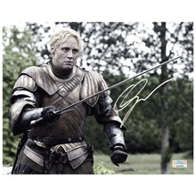 Load image into Gallery viewer, Gwendoline Christie Autographed Game of Thrones Brienne of Tarth 8x10 Action Photo