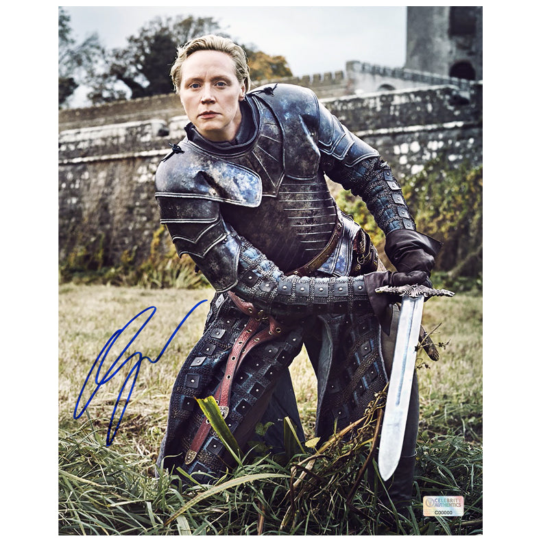 Gwendoline Christie Autographed Game of Thrones Brienne of Tarth 8x10 Photo