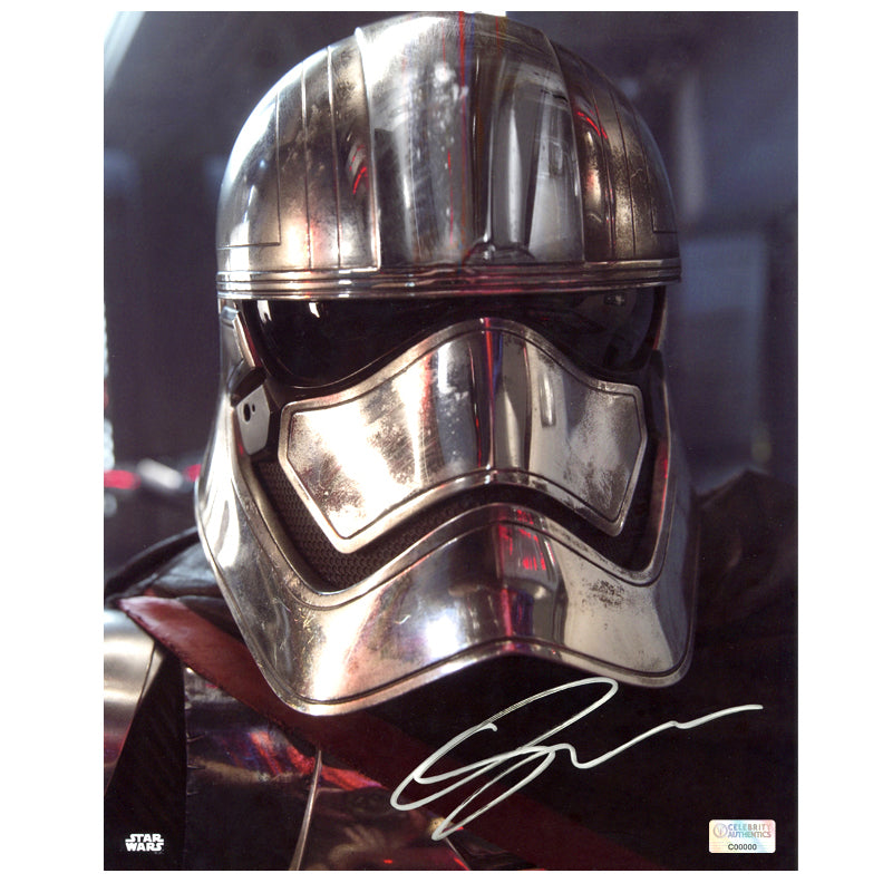Gwendoline Christie Autographed Star Wars: The Force Awakens 8×10 Captain Phasma Close Up Photo