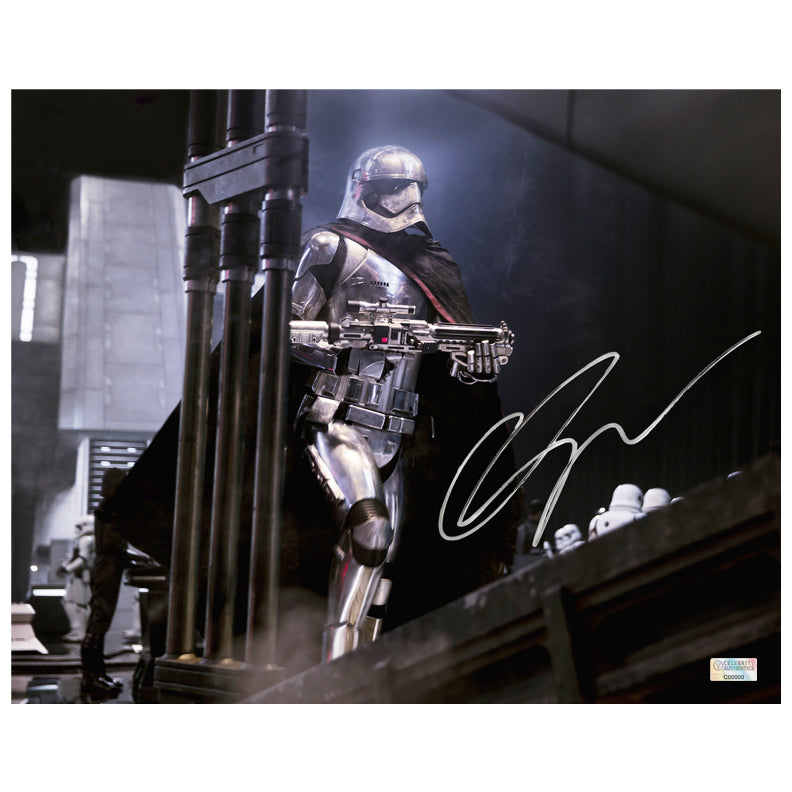 Gwendoline Christie Autographed Star Wars: The Force Awakens Captain Phasma Mission Commander 8x10 Photo