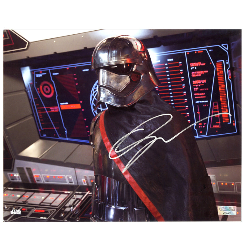 Gwendoline Christie Autographed Star Wars: The Force Awakens Captain Phasma Starkiller Base 8x10 Photo