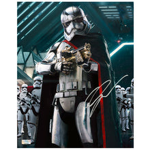 Load image into Gallery viewer, Gwendoline Christie Autographed Star Wars: The Force Awakens Captain Phasma Stormtooper Commander 8x10 Photo