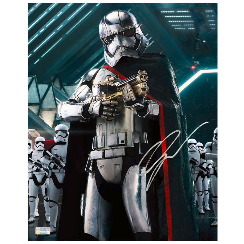 Gwendoline Christie Autographed Star Wars: The Force Awakens Captain Phasma Stormtooper Commander 8x10 Photo