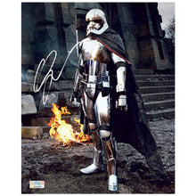 Load image into Gallery viewer, Gwendoline Christie Autographed Star Wars: The Force Awakens Captain Phasma on Takodana 8x10 Photo