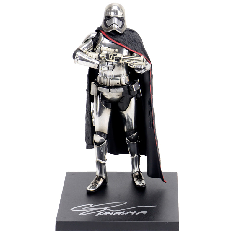 Gwendoline Christie Autographed Star Wars: The Force Awakens Captain Phasma Statue