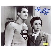 Load image into Gallery viewer, Phyllis Coates Autographed The Adventures of Superman 1952 8×10 Photo