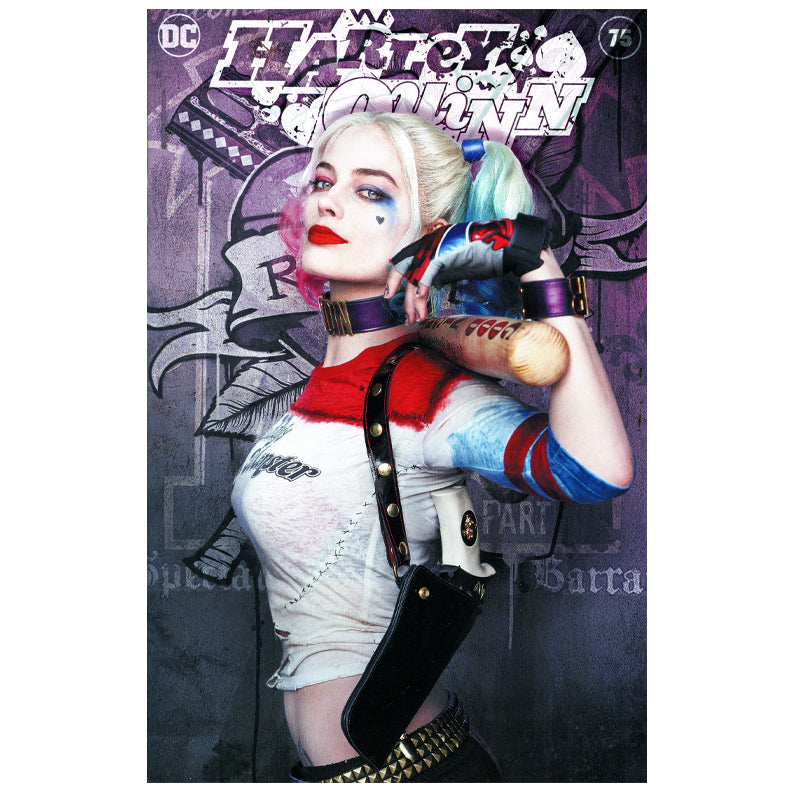 Harley Quinn #75 Comic with Celebrity Authentics Exclusive Margot Robbie Photo Cover